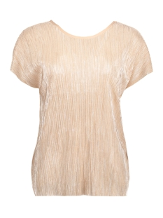 Vero Moda T-shirt VMMIRANDA SS WIDE PLEAT TOP JRS BOO 10176518 Moonlight/Silver