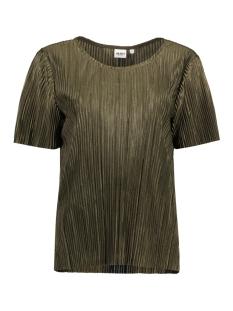 Object T-shirt OBJJACOBINA 2/4 TOP 91 23024459 Ivy Green