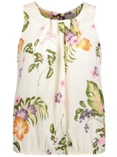 Vero Moda Top VMBLOOM RESTA S/L TOP 10185066 Moonbeam/Bloom