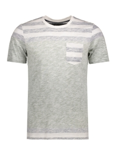 Jack & Jones T-shirt JORBLOCK STRIPE TEE SS CREW NECK 12122109 CLoud Dancer/Fit L
