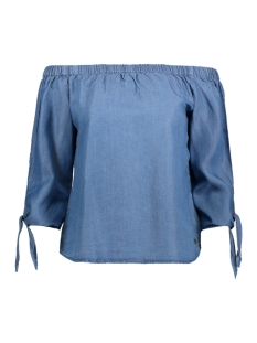 Only Blouse onlINDIA 3/4 OFF S DNM TOP QYT BOX 15131875 Medium Blue Denim