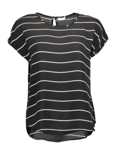 Jacqueline de Yong T-shirt JDYPERFECT S/S TOP WVN 15134510 Black/Cloud Danc