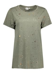 Object T-shirt OBJSPLASH S/S T-SHIRT A 23024975 Ivy Green