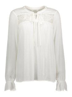 Vila Blouse VIDORA L/S TOP 14041046 Cloud Dancer