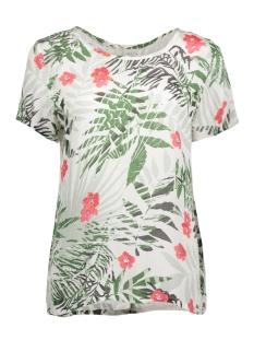 Vila T-shirt VIBEACH S/S TOP 14041439 Cloud Dancer/ViBeach pr