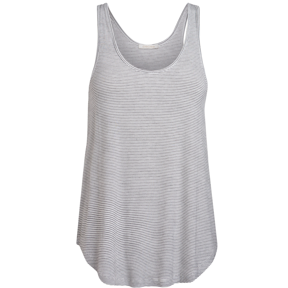 pcbillo tank top noos 17073998 pieces top bright white/ black
