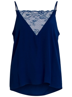 Vila Top VICINDIA STRAP TOP 14041462 Estate Blue
