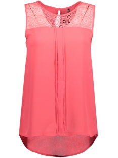 Only Top onlVENICE S/L LACE TOP NOOS WVN 15138915 Teaberry