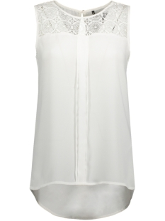 onlVENICE S/L LACE TOP NOOS WVN 15138915 Cloud Dancer