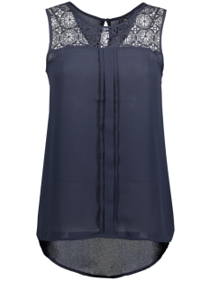 onlVENICE S/L LACE TOP NOOS WVN 15138915 Night Sky