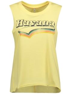 Only Top onlJANE S/L HAVANA/MOJITO TOP BOX E 15135717 Pale Banana/ Havana