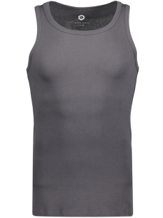 Jack & Jones T-shirt JCOBOOSTER TANK TOP SL NOOS 12089379 Asphalt/ Tight Fit