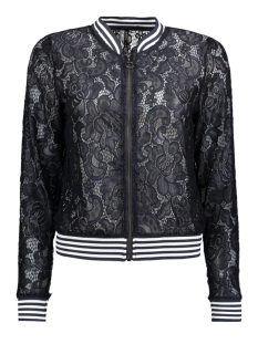 Only Jas onlGWEN L/S BOMBER JRS 15134944 Night Sky/ Rib in Str