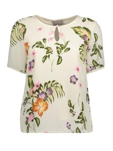 Vero Moda T-shirt VMBLOOM S/S TOP D2-4 10180079 Moonbeam/ Bloom