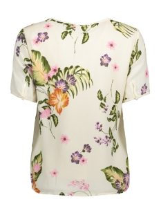 vmbloom s/s top d2-4 10180079 vero moda t-shirt moonbeam/ bloom