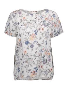 Vila T-shirt VIKASULI S/S TOP 14041352 Pristine