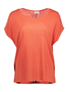 Vila T-shirt VISUMI S/S TOP-NOOS 14039490 Hot Coral