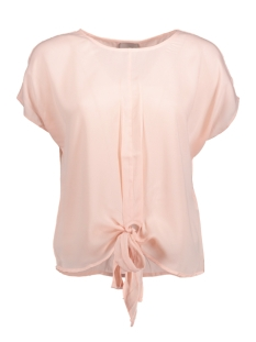 VMUNA SS TIE UP TOP A 10175267 Peach Whip