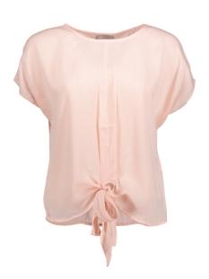 Vero Moda T-shirt VMUNA SS TIE UP TOP A 10175267 Peach Whip
