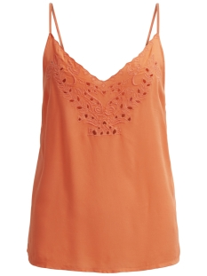 Vila Top VINIDA NEW STRAP TOP 14041310 Hot Coral