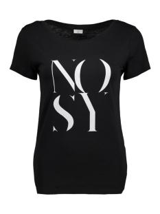 Jacqueline de Yong T-shirt JDYCHICAGO S/S PRINT TOP JRS 04 15131796 Black/ Nosy