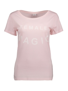 Jacqueline de Yong T-shirt JDYCHICAGO S/S PRINT TOP JRS 04 15131796 Pale Lilac/ Female Magic