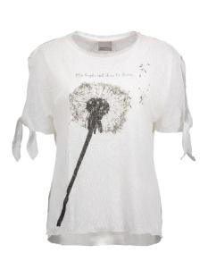 Vero Moda T-shirt VMMACY SS TOP BOX JRS 10176319 Snow White