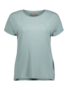 Vero Moda T-shirt VMCHARLY O-NECK SS TOP NOOS 10170051 Blue Surf