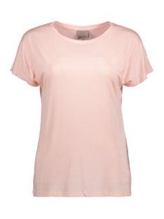 Vero Moda Top VMCHARLY O-NECK SS TOP NOOS 10170051 Peach Whip