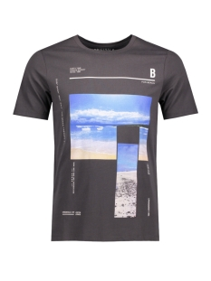 Jack & Jones T-shirt JORPHONE TEE SS CREW NECK 12118504 Asphalt