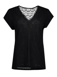 Object T-shirt OBJVIOLA S/S TOP 23024081 Black