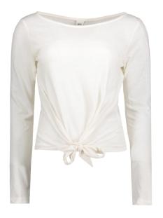 Object T-shirt OBJOLIVIA L/S PULLOVER .I 91 23024462 Gardenia