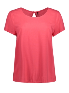 Only T-shirt onlFIRST SS TOP NOOS WVN 15133014 Teaberry