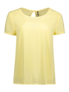 Only T-shirt onlFIRST SS TOP NOOS WVN 15133014 Pale Banana