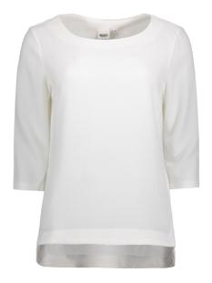 Object T-shirt OBJCORLEE 3/4 TOP NOOS 23024282 Gardenia