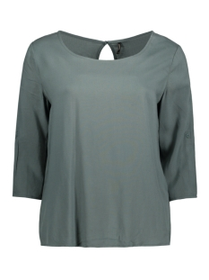 Only T-shirt onlFIRST 3/4 FOLD UP TOP NOOS WVN 15133031 Balsam Green