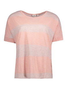 Object T-shirt OBJKAROLINA S/S TOP 23024478 Misty Rose