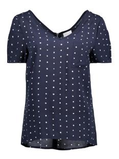 Vila T-shirt VIDOTTHEA ZIP TOP/1 14042506 Total Eclipse/ Snow White