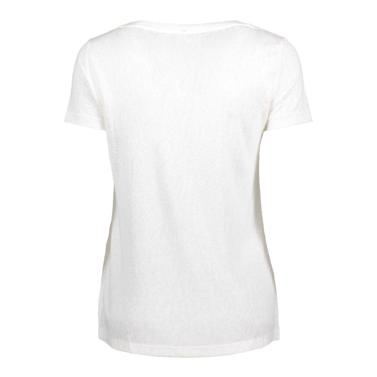 onlpiper s/s unplugged/life top box 15135723 only t-shirt cloud dancer/ life