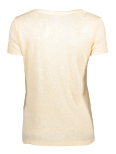 onlpiper s/s unplugged/life top box 15135723 only t-shirt pale banana/ life