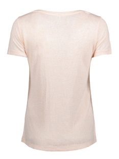 onlpiper s/s unplugged/life top box 15135723 only t-shirt peach whip/ unplugged