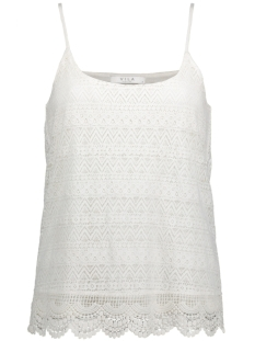Vila Top VIDORI SINGLET/B 14041444 Cloud Dancer