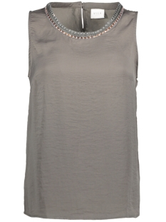 Vila Top VITANIA S/L TOP/DC 14040075 Granite Gray