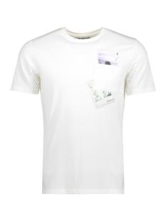 Jack & Jones T-shirt JORCHECK TEE SS CREW NECK 12121951 Cloud Dancer