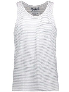 Jack & Jones T-shirt JORPASADENA TANK TOP 12120898 Enaign Blue