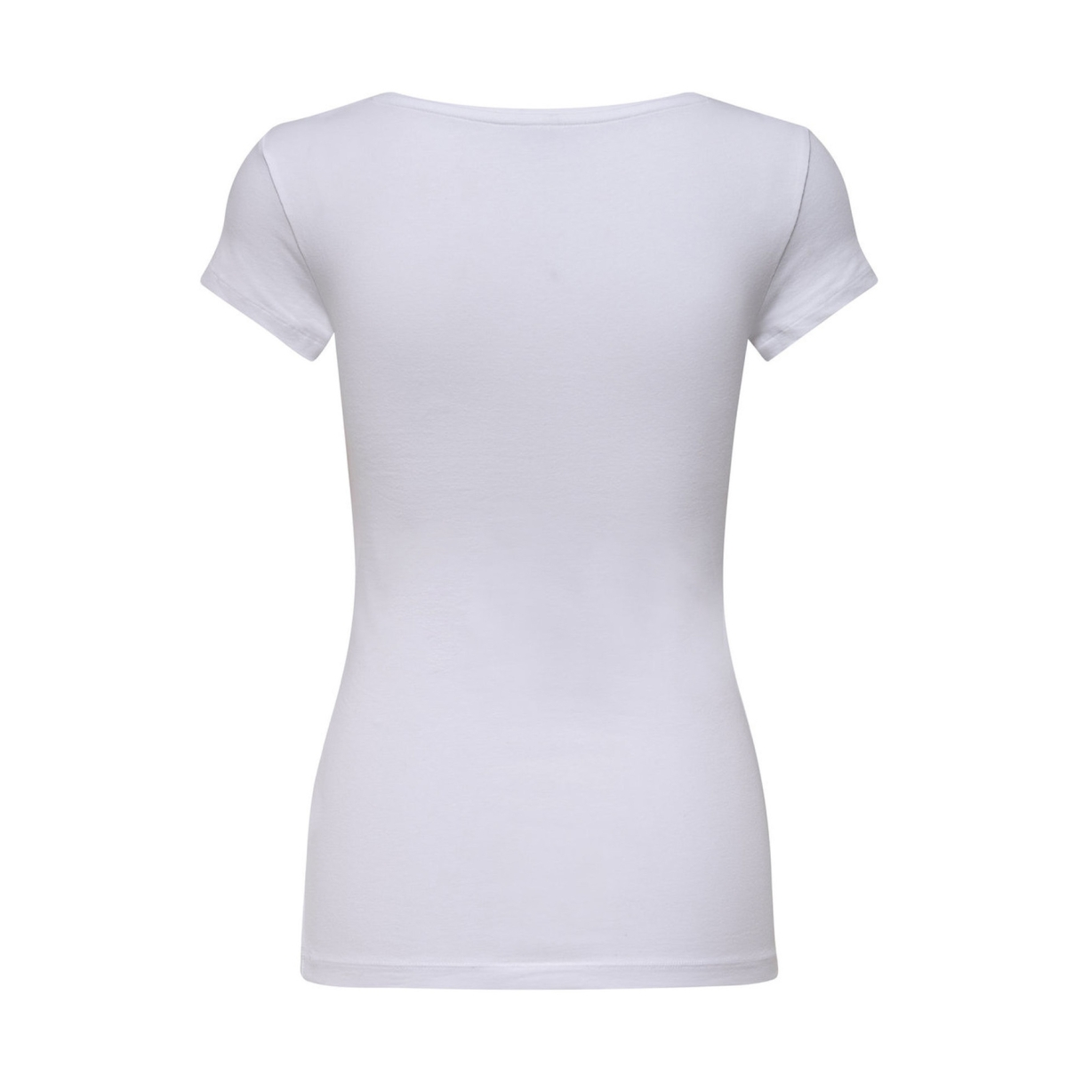 onllive love new ss o-neck top noos 15132306 only t-shirt white