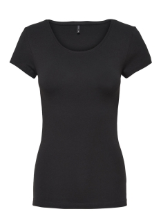 onllive love new ss o-neck top noos 15132306 only t-shirt black