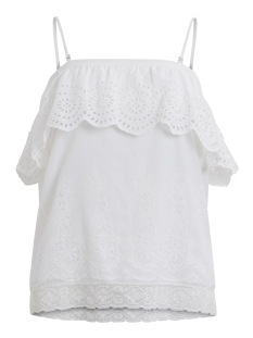 Vila Top VIEMILIA TUBE TOP GV 14041392 Cloud Dancer