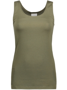 Vila Top VIOFFICIEL NEW TANK TOP-NOOS 14032639 Ivy Green