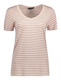 Vero Moda T-shirt VMLISITA S/S TOP FF17 10187636 Peach Whip/ Gold Lurex